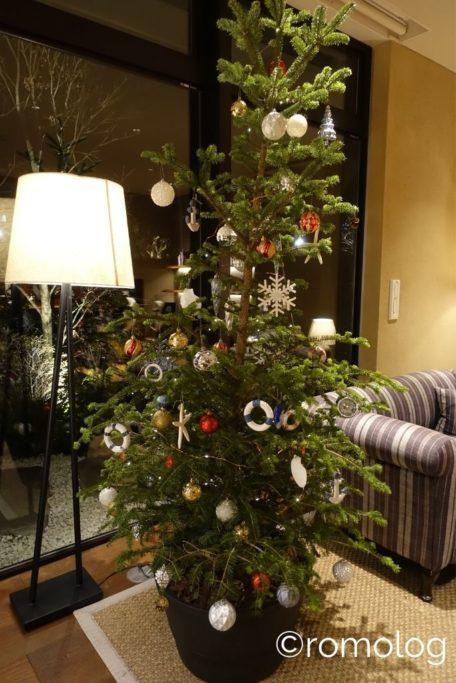 星野リゾート界アンジン クリスマスツリー